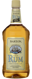 Barton Rum Gold 1.00l - Case of 12